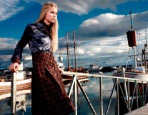 Islandzki Bialcon na jesień 2008.