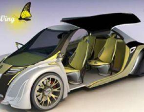 BirdWing, samochód inspirowany motylami