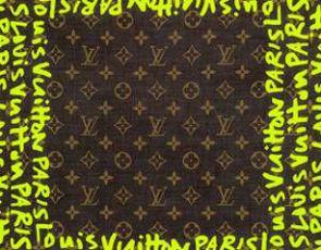 Louis Vuitton znów bawi się w graffiti