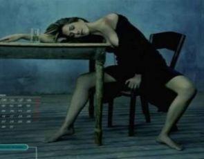Kalendarz 2009 z Jennifer Aniston