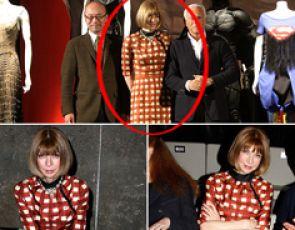 Naczelna amerykańskiego Vogue trzy razy w tej samej kreacji!